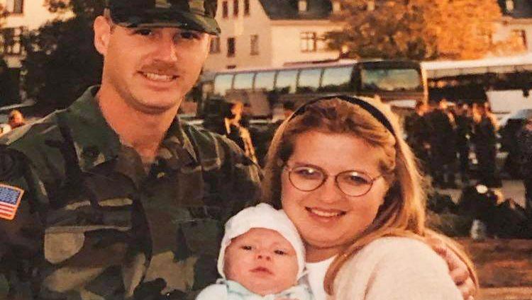"""Timothy Eugene Pace mit Familie während seiner Zeit in Bad Kreuznach: """"Deutschland hat aus mir einen Fußgänger gemacht"""""""