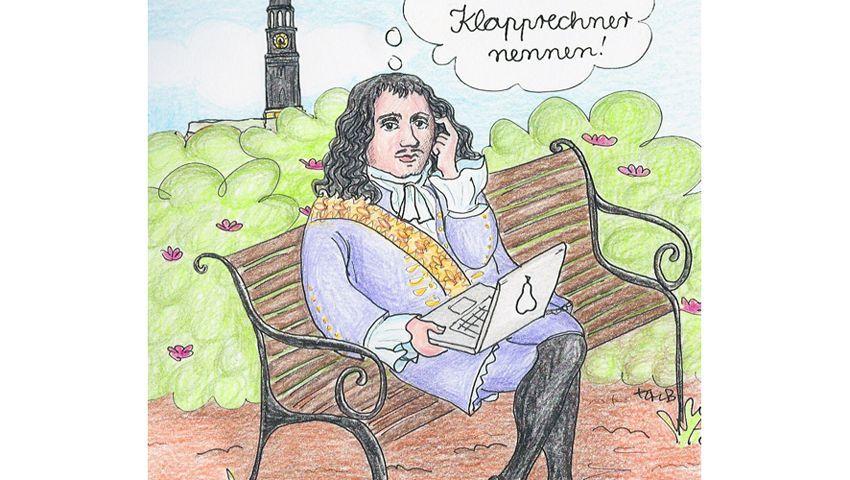 """Philipp von Zesen: """"Ich würde es 'Klapprechner' nennen!"""""""
