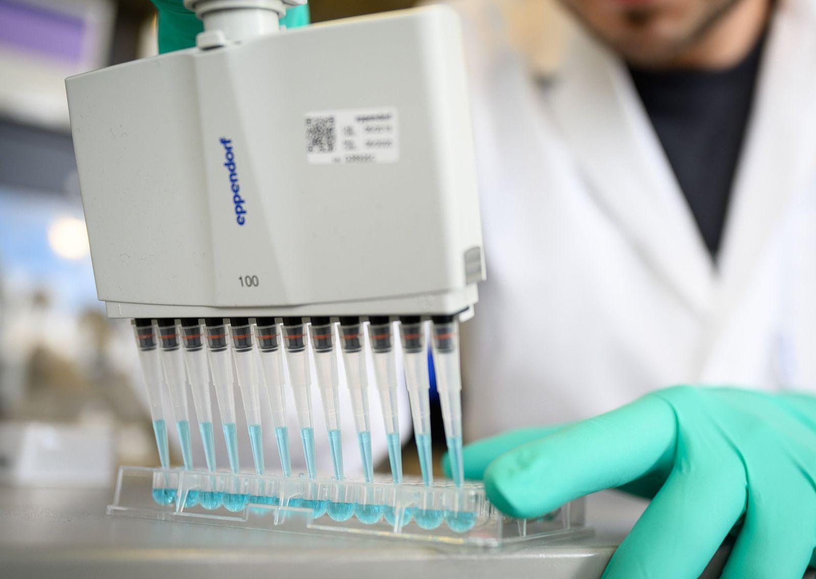 Labore in der Corona-Pandemie