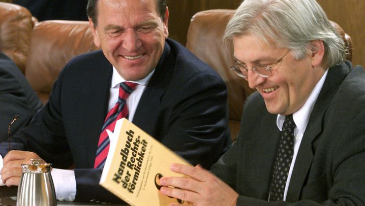 Frank-Walter Steinmeier: Auf dem Weg nach Bellevue