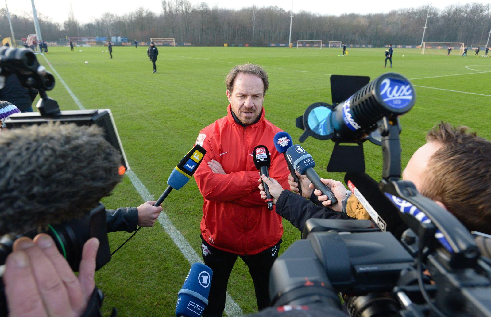 RB Leipzig startet in die Rückrundenvorbereitung