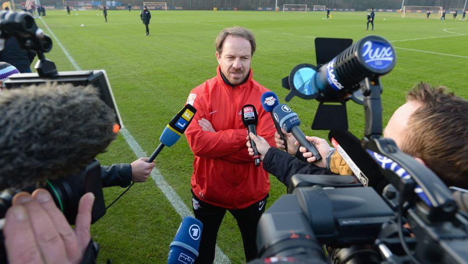 RB-Coach Leipzig: Nach Niederlage in Aue entlassen