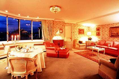 Nur für Wohlhabende: Luxus-Suite des Hotels Ritz in Paris