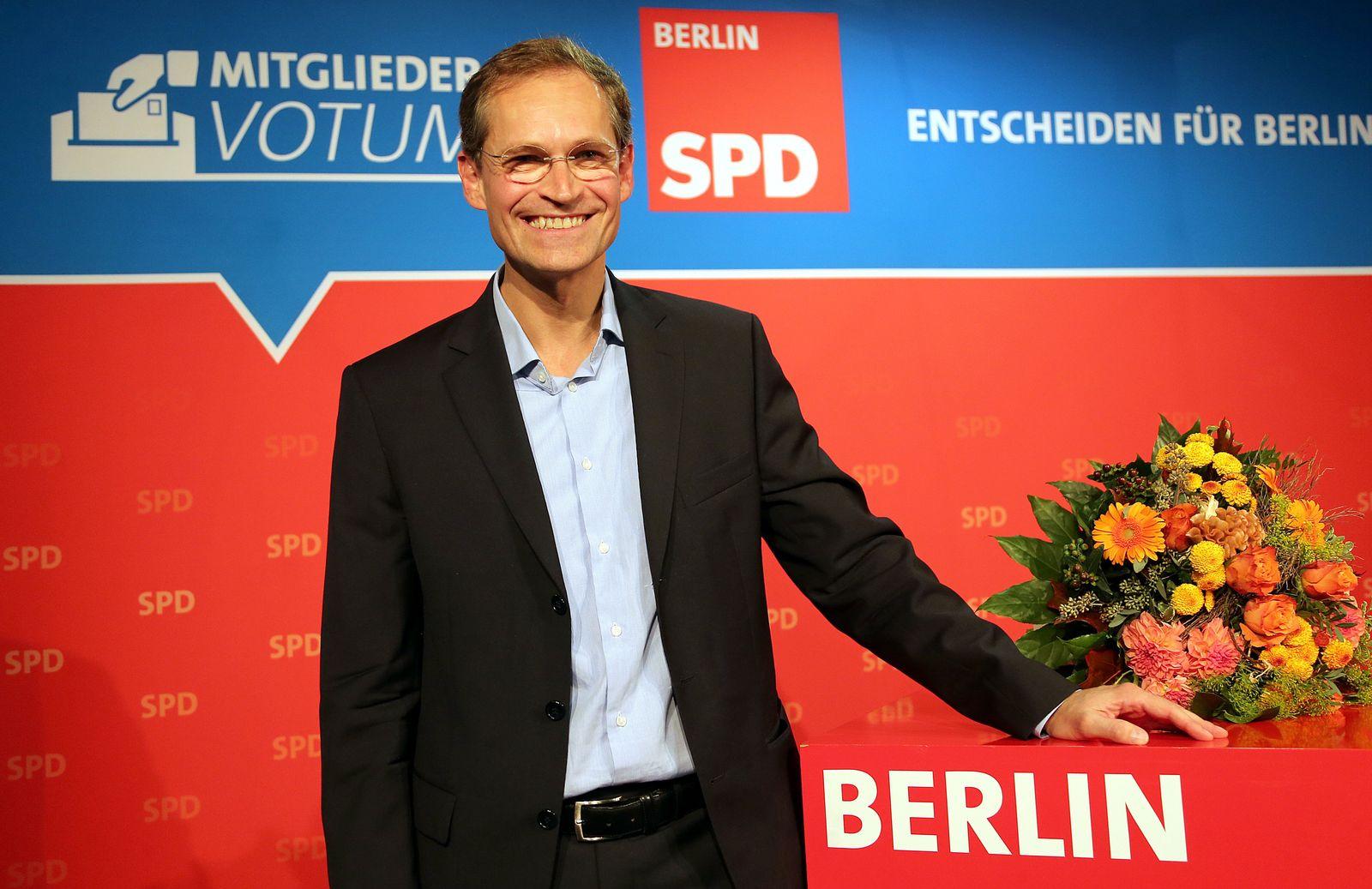 Michael Müller zum Nachfolger von Wowereit nominiert