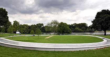 """""""Schändlich"""": Diana-Memorial-Brunnen im Londoner Hyde Park"""