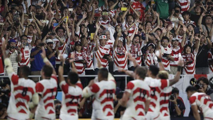 Rugby-WM: Japanische Sensation
