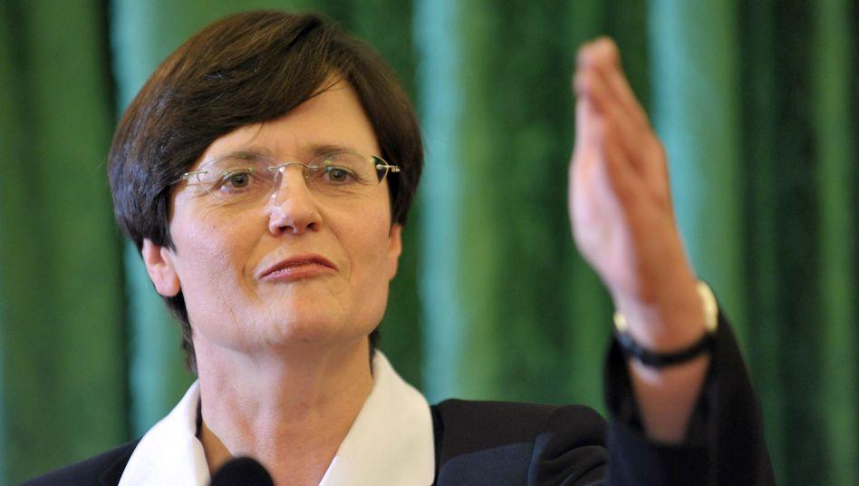 Thüringens Ministerpräsidentin Lieberknecht: Setzt auf personellen Neustart