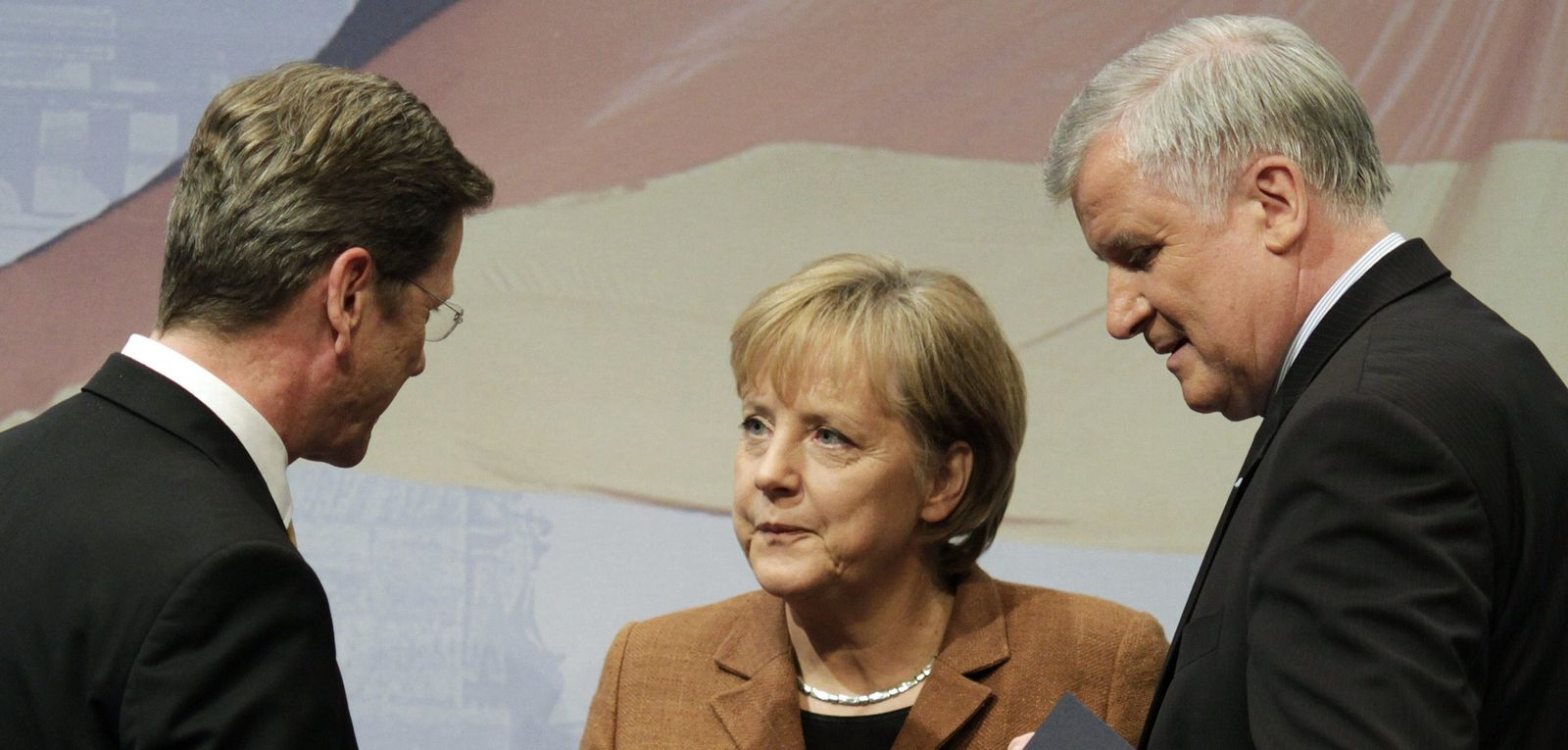 Merkel Westerwelle Seehofer