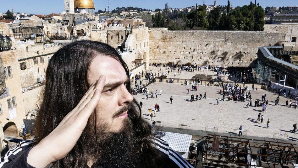 Meese in Jerusalem