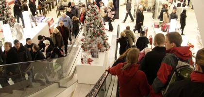 Berliner Einkaufszentrum: Kauflaune dürfte bald abebben