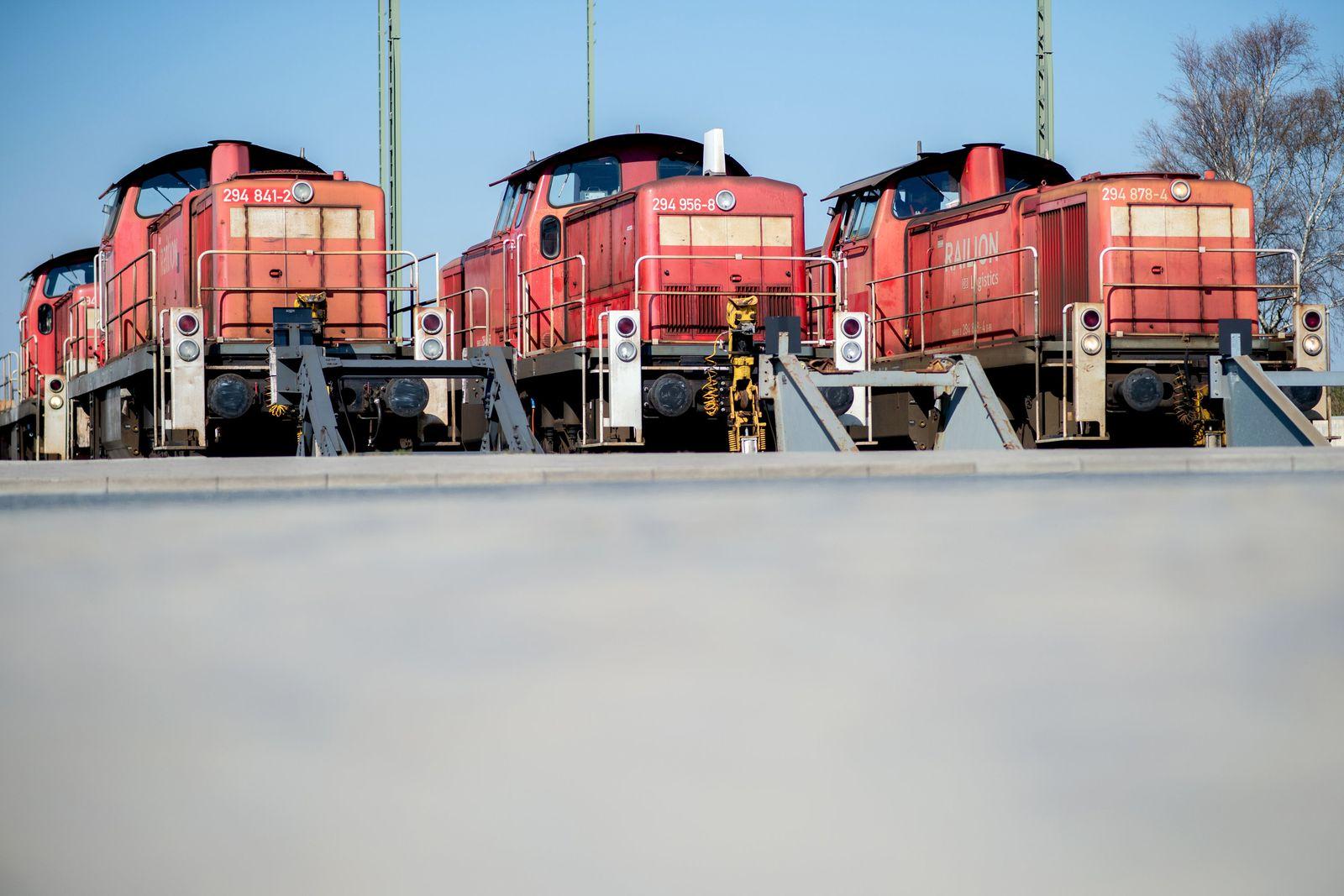 Rangierlokomotiven in Bremerhaven