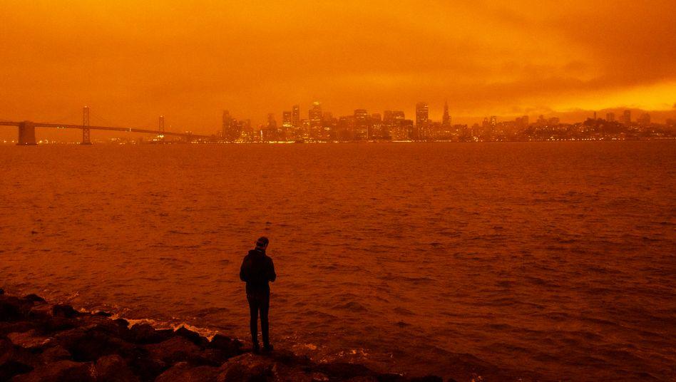 Brände in Kalifornien am 9. September: Schon im Jahr 2070 könnten weltweit 3,5 Milliarden Menschen in Gebieten wohnen, in denen so hohe Temperaturen herrschen, dass ein Überleben kaum möglich ist