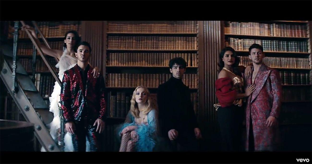 NUR ALS ZITAT EINMALIGE VERWENDUNG Jonas Brothers/ Sucker/ Video/ Screenshot