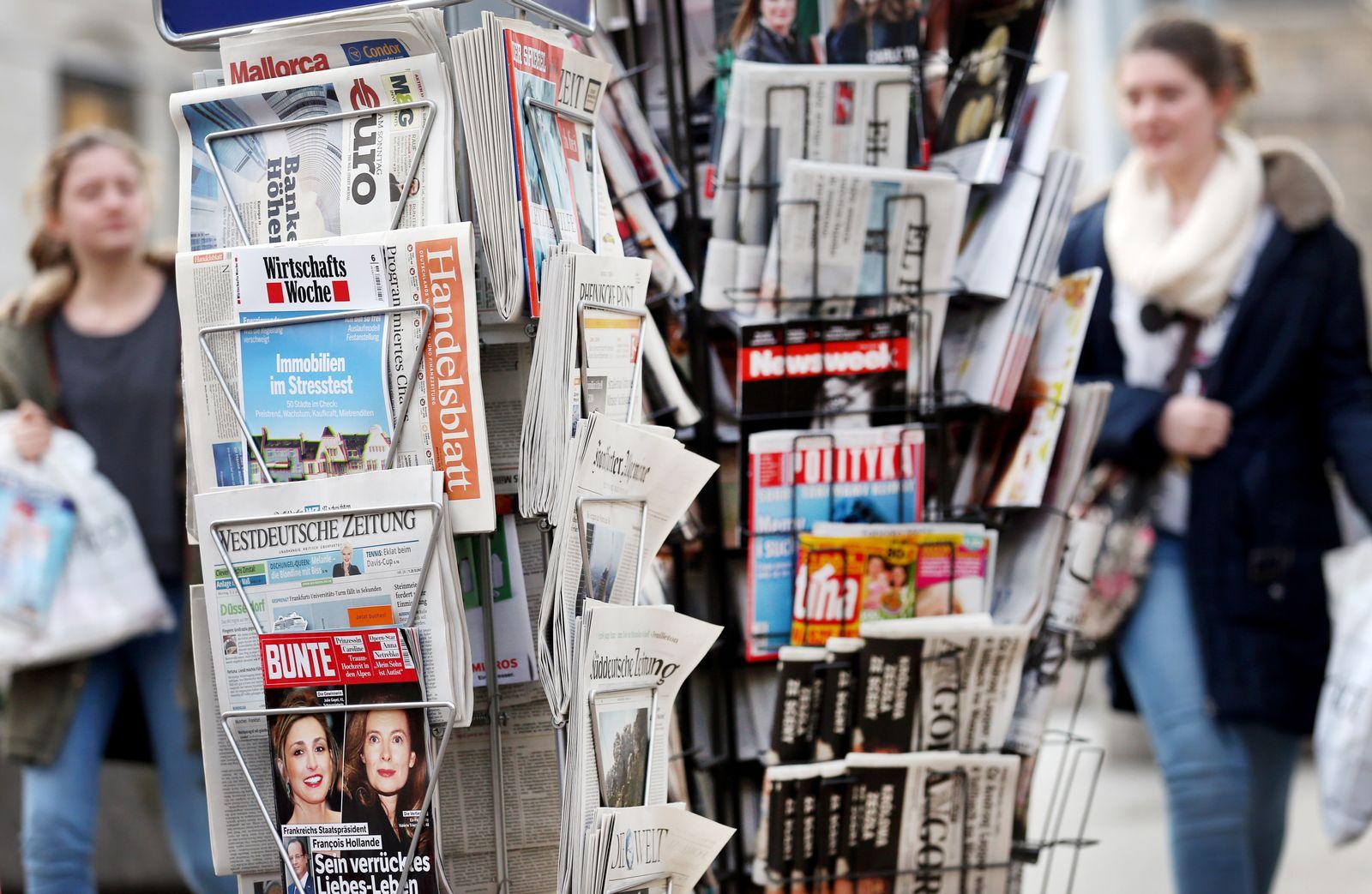 Tarifverhandlungen für die Redakteure an Tageszeitungen