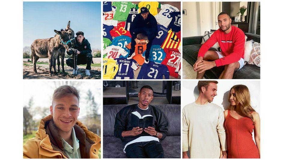 Gute Miene zum bösen Virus: Fußballer in der Instagram-Isolation