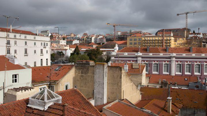 Besetztes Lissabon