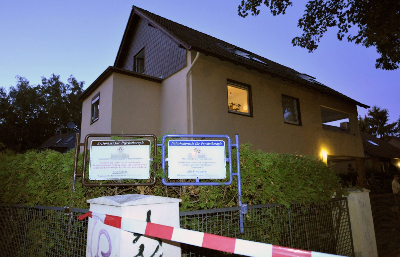 Berlin / Hermsdorf / Gruppentherapie / Vergiftung