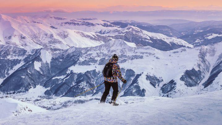 Skigebiet Gaudari in Georgien: Ein Unfall als Glücksfall