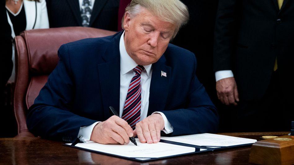 Donald Trump: Immer wieder geht es um die Steuererklärung