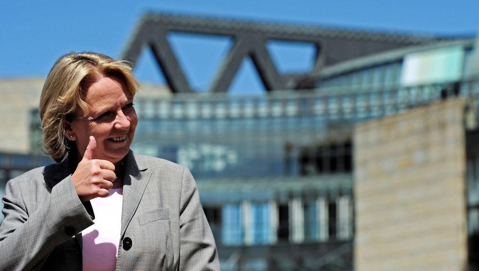 Ministerpräsidentin Kraft: Erste Abstimmungen im Landtag geschafft