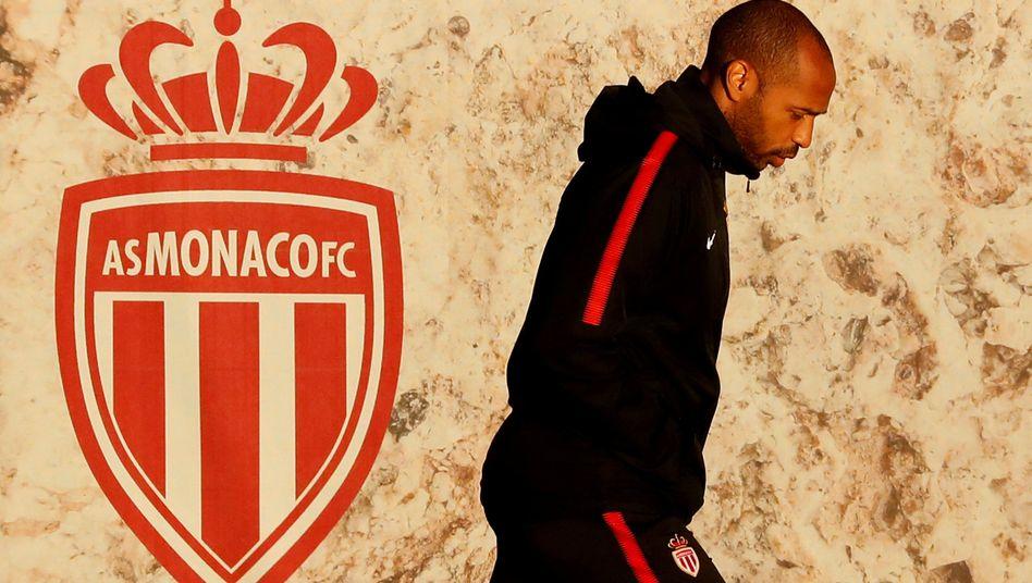 Sieht nach Abschied aus: Thierry Henry verlässt AS Monaco