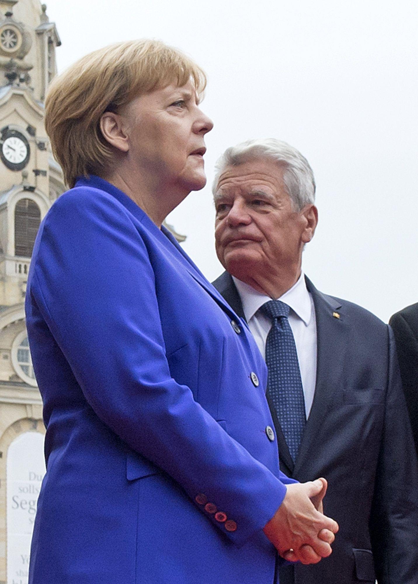 Merkel & Gauck