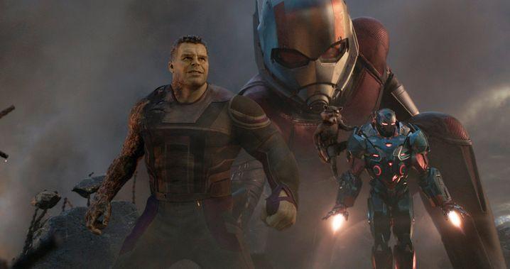 Szene aus »Avengers: Endgame«: Robert Downey Jr. allein verdiente an dem Film 75 Millionen Dollar