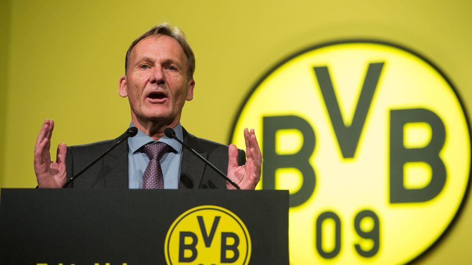 Geschäftsführer Watzke: Kritik an den eigenen Fans