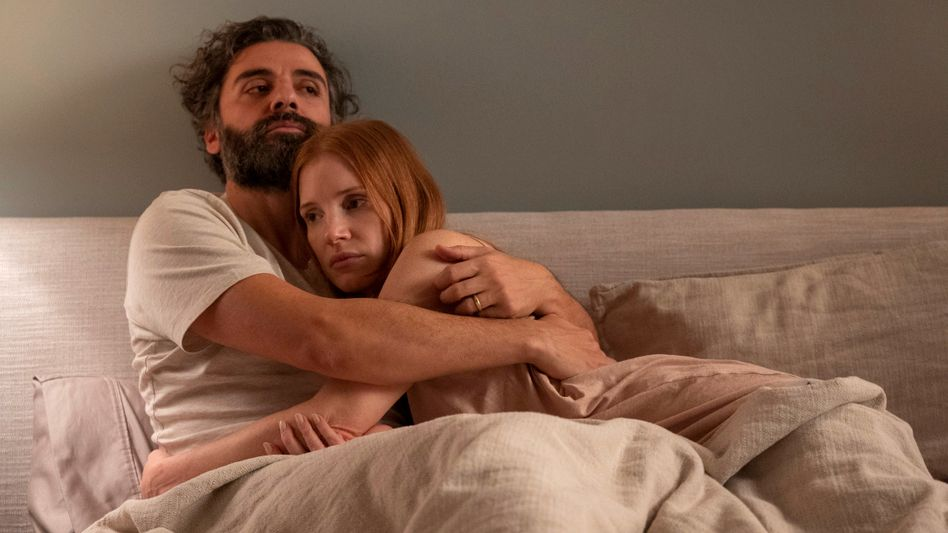 Jessica Chastain und Oscar Isaac in »Scenes from a Marriage«
