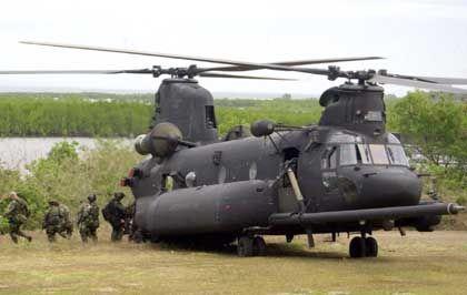 MH-47-Hubschrauber im Einsatz: Empfindlicher Verlust
