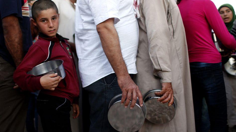 Syrische Flüchtlinge: Mehr als vier Millionen Menschen sind auf Hilfe angewiesen