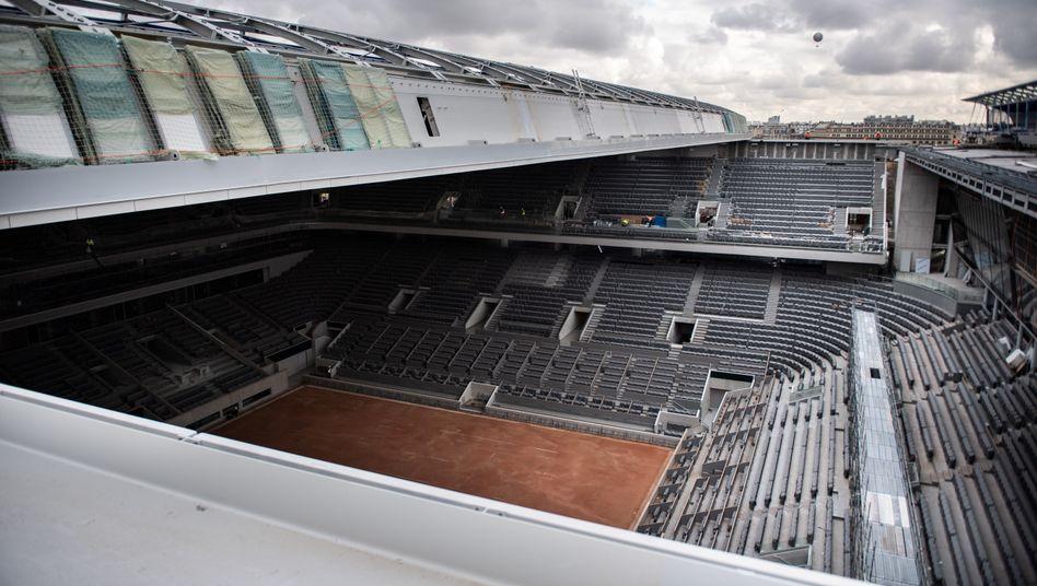 Tennis in Paris: Keine Zuschauer bei den French Open?