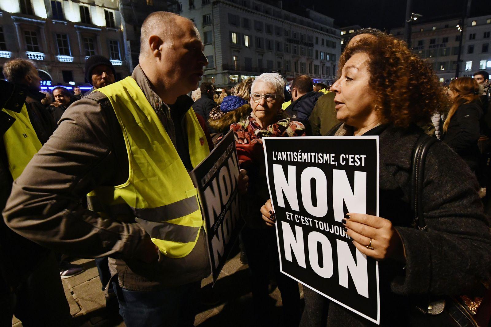 Antisemitismus/ Frankreich/ Gelbe Westen