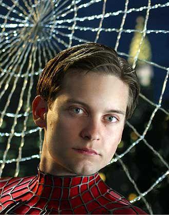 """Szene aus """"Spider-Man 2"""", Darsteller Tobey Maguire: """"Warum kann ich nicht so sein?"""""""