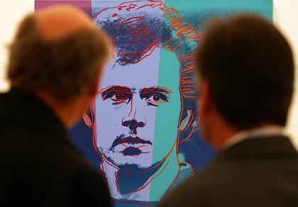 Kunstobjekt Beckenbauer: Alles riecht nach Coolness