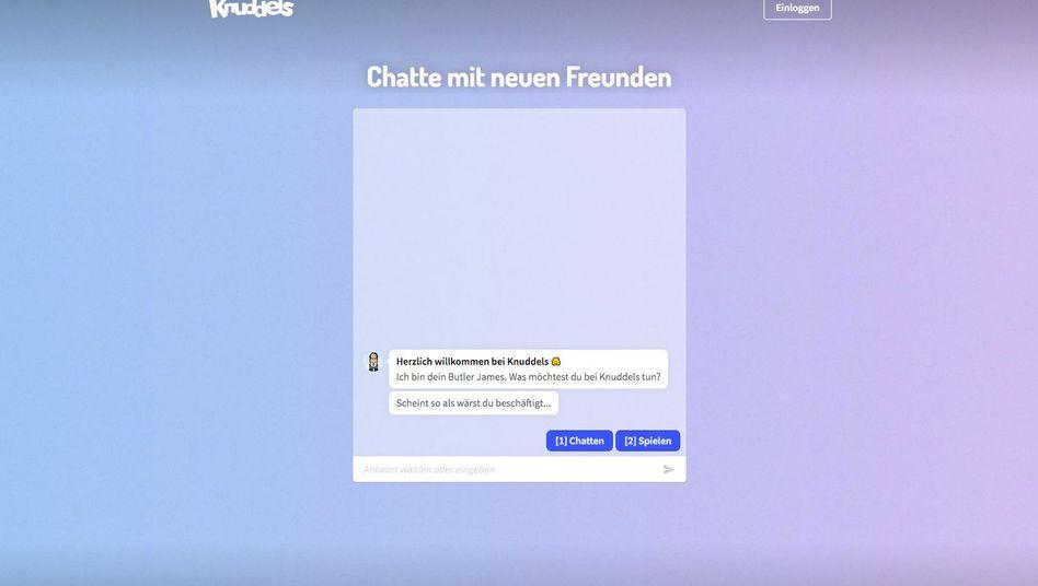 Knuddels.de (Screenshot)