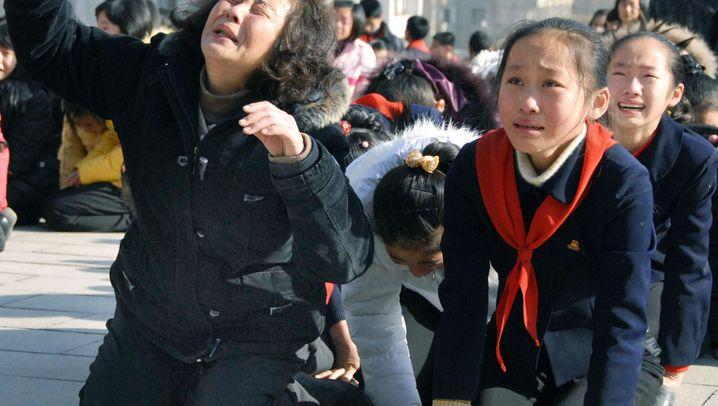 Tod von Kim Jong Il: Staatstrauer in Nordkorea