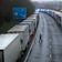 Hunderte Lkw-Fahrer gestrandet