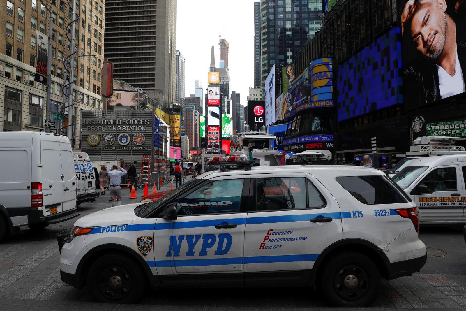 New York Time Square vereitelter Anschlag
