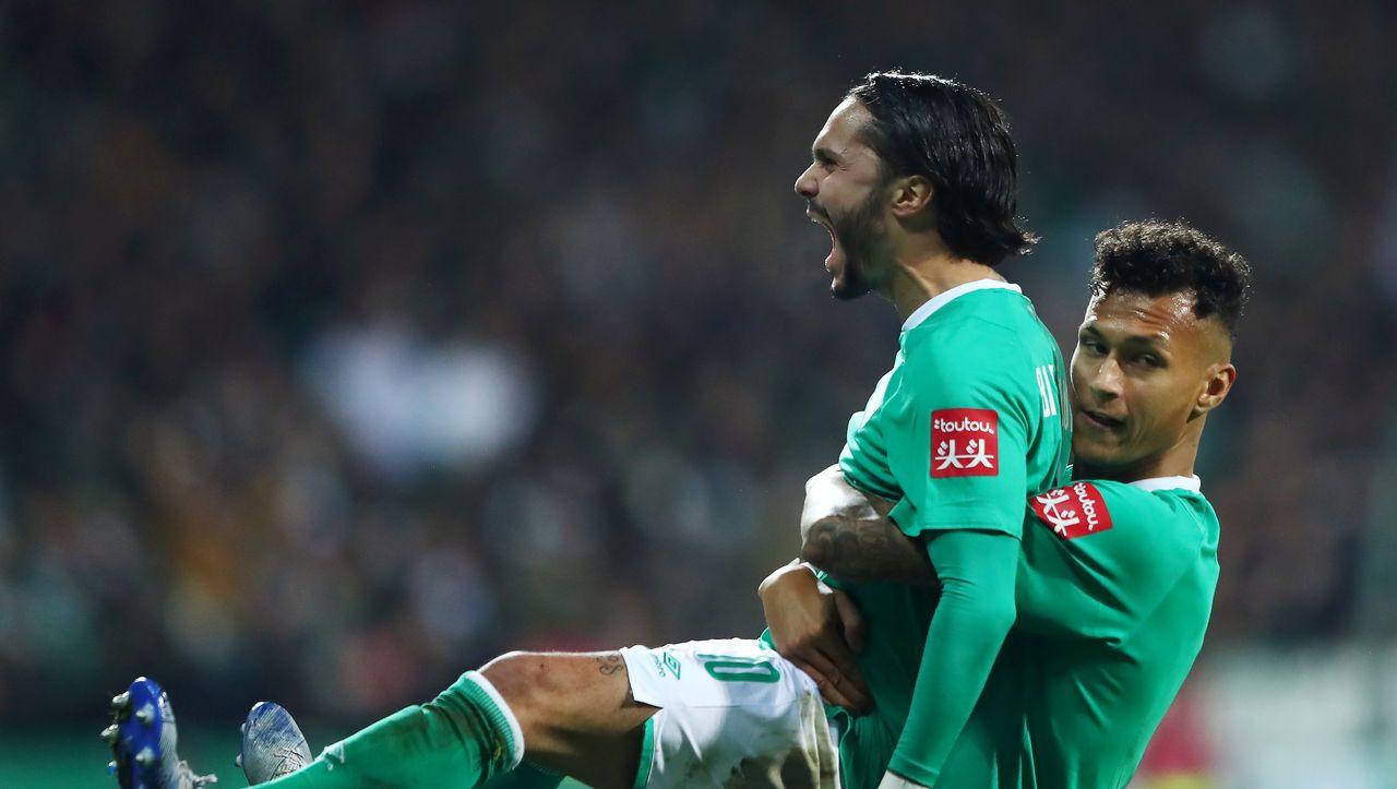 DFB-Pokal: Werder Bremen gewinnt dramatisches Spiel gegen Borussia Dortmund - DER SPIEGEL - Sport