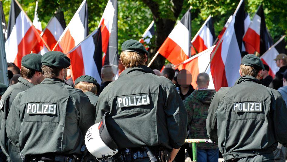 Neonazi-Demonstration in Dortmund (2010): Starker Zulauf von Kadern und Aktivisten