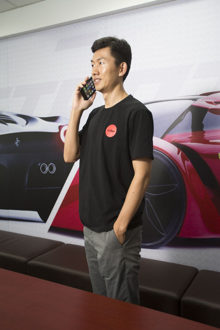 """Unternehmer Zhang """"Warum soll jeder ein eigenes Auto kaufen?"""""""