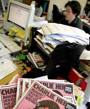 """Charlie Hebdo"": Prozess gegen Nachdruck der Mohammed-Karikaturen"