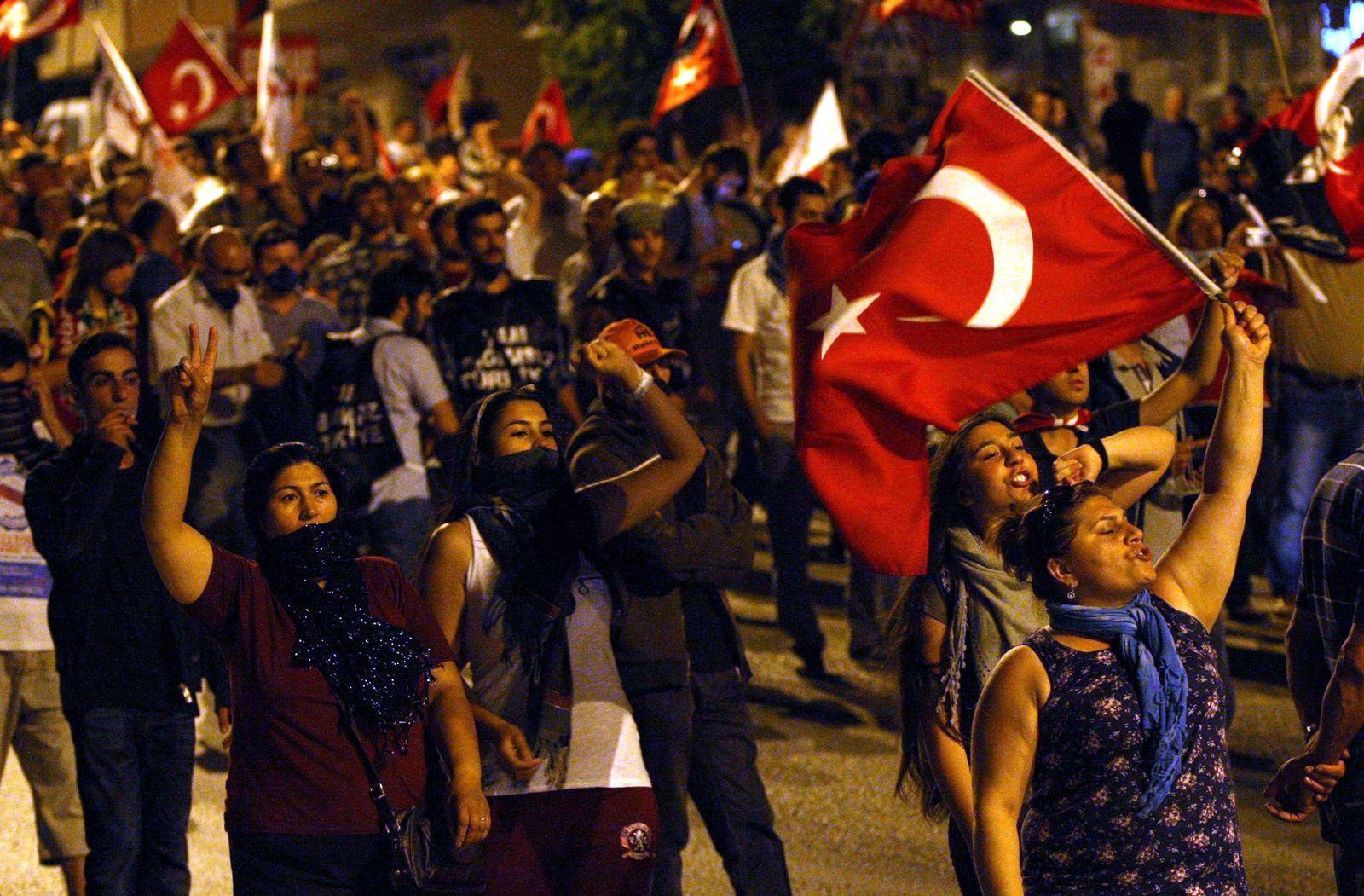Protest Türkei Ankara