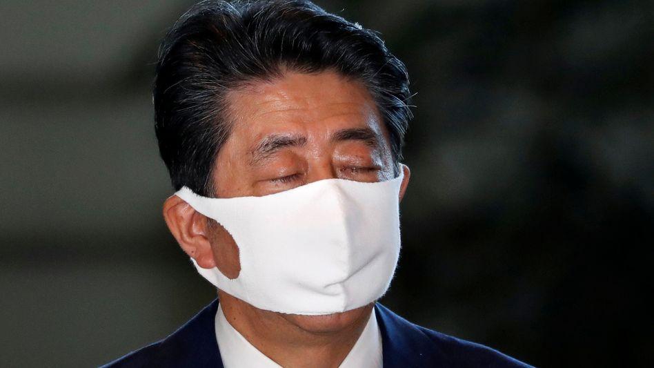 Scheidender Premier Shinzo Abe: Das Land braucht einen Neuanfang