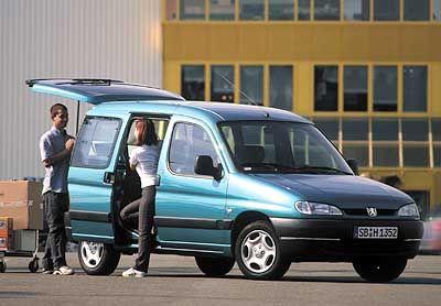 Moderner Selbstzünder: Peugeot Partner Combispace HDi