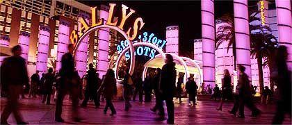 """Bally's-Casino im Lichterschein: """"Das Land, in dem alles möglich ist"""""""