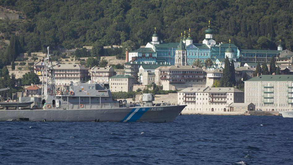 Schiff der griechischen Küstenwache (Symbolbild)