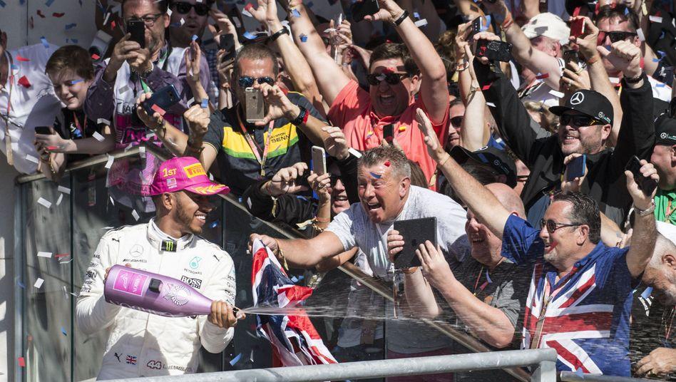USA-Sieger Lewis Hamilton
