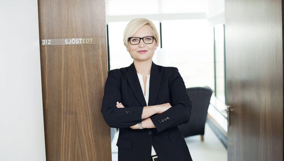 Karstadt-Chefin Sjöstedt (Archivbild): Abschied nach nur wenigen Monaten